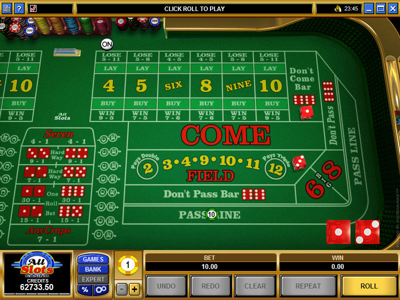 Microgaming Craps Games
